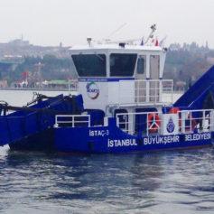 Küçük Deniz Yüzey Temizleme Teknesi 2