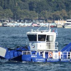 Küçük Deniz Yüzey Temizleme Teknesi 4