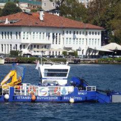 Küçük Deniz Yüzey Temizleme Teknesi 5
