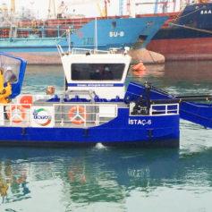 Küçük Deniz Yüzey Temizleme Teknesi 6